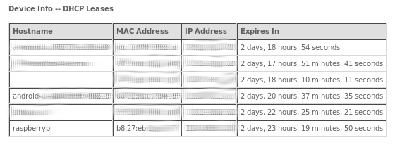 dhcp-info